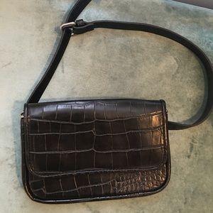 Alligator Fanny Pack/Cross Body Bag